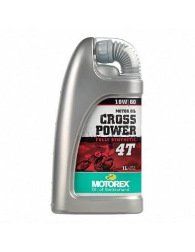 Aceite Motorex Cross Power 10W60 4T 1L